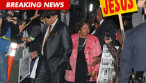 Conrad Murray Trial -- Courthouse Arrivals