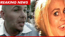 Pitbull SLAMS Lindsay Lohan -- You're Full of Crap!!!