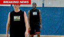 LeBron James -- King of the Jews' ... Basketball League