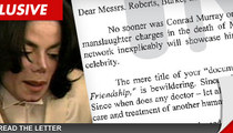 Michael Jackson Executors -- NBC is 'Morally Culpable' For Murray Documentary