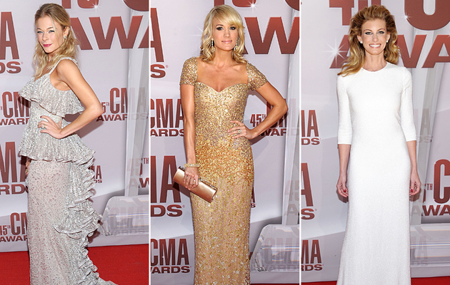 Country Meets Couture at the CMA Awards