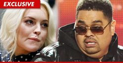 Lindsay Lohan &amp; Heavy D -- Morgue Buddies