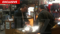Nic Cage -- Drops $2,000 on MAMMOTH IVORY Steak Knife