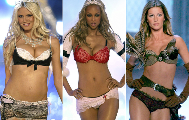 Heidi! Tyra! Gisele! Victoria's Secret's Hot History!