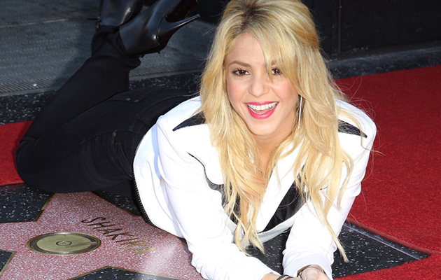 Shakira Gets Walk of Fame Star