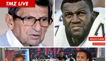 TMZ Live: Joe Paterno's Exit -- He Really Does Run Penn State