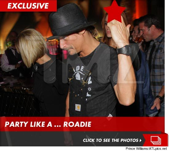 Kid Rock Partying