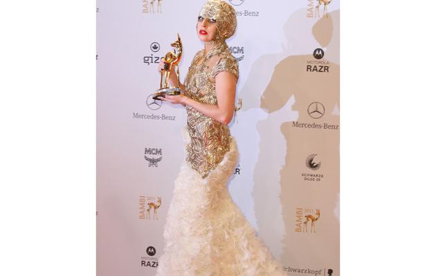 Bambi Awards -- Bieber, Gwyneth and Gaga!