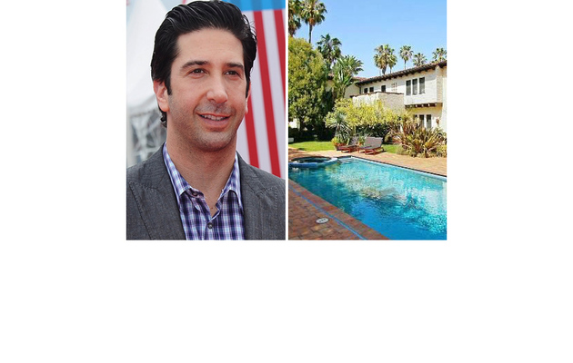 Inside David Schwimmer's $10 Million Mansion