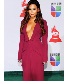 Demi Lovato's Daring Dress at the Latin Grammys
