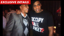 Jay-Z -- Occupy T-Shirts Disappear Amid Criticism