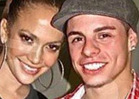 Jennifer Lopez -- First Photo with Dancer B