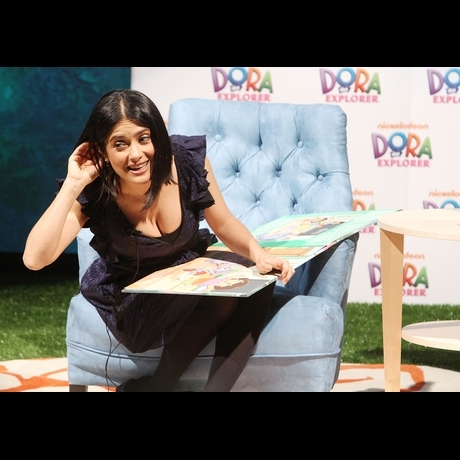 Celebrities reading to children