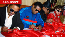 Tito, Marlon and Jackie Jackson -- We Got Screwed Over Thriller Jackets