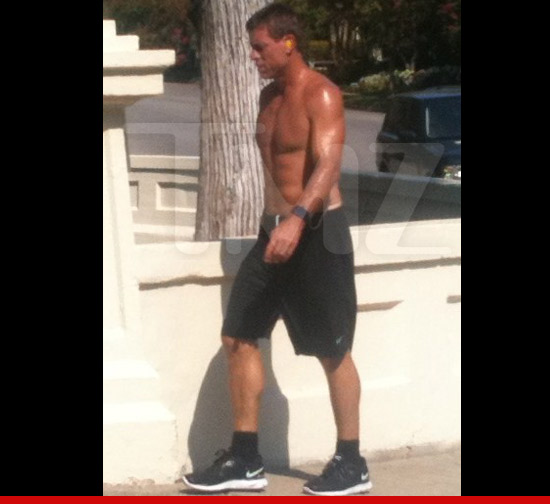 Troy Aikman shirtless
