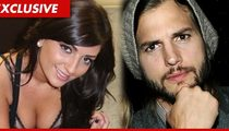 Ashton Kutcher's Alleged Mistress Brittney Jones -- Now Do You Believe Me?!!?!