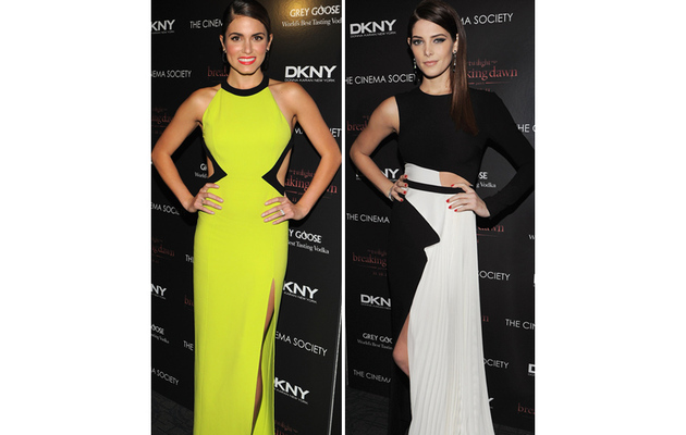 """""""Breaking Dawn"""" Beauties: Whose Cut-Out Dress is Hotter?"""