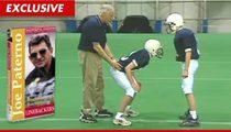Joe Paterno Linebacker Video -- KILLED Over Sandusky Appearance