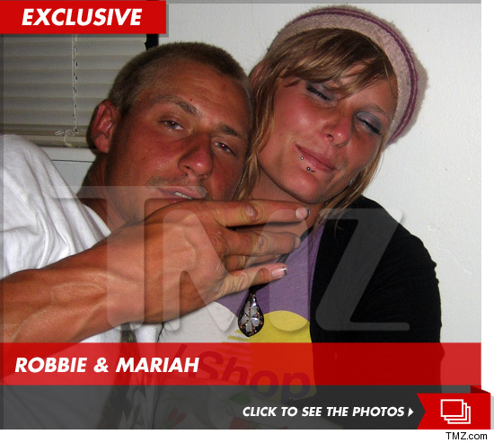 Robbie Powell and Mariah Yeater