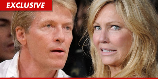 Jack Wagner and Heather Lockear