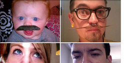 TMZ&#039;s Annual Moustache Madness Contest -- &#039;Stache-tastic!