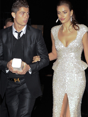 Cristiano Ronaldo &amp; Irina Shayk Attend Marie Claire Awards