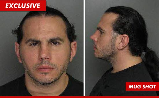 Matt Hardy Mug Shot