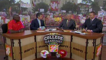 ESPN Analyst Lee Corso Drops F Bomb Live on Air