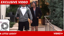 Mickey Rourke -- No Pants On