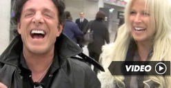 Neal Schon &amp; Michaele Salahi -- Laughing at Tareq&#039;s Legal Threats