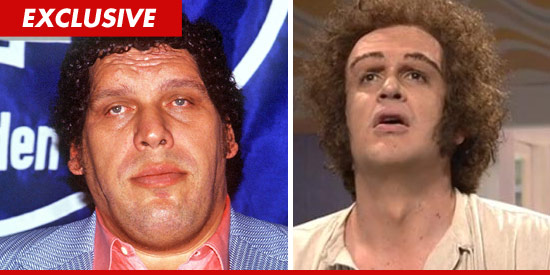 Jason Segel as Andre the Giant