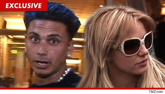 Pauly D is hitting the road with Britney Spears again -- but TMZ has learned ...