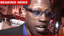 Wesley Snipes Sued -- Now AMEX is On My Ass!?!