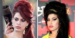 Eva Mendes -- The Amy Winehouse Makeover
