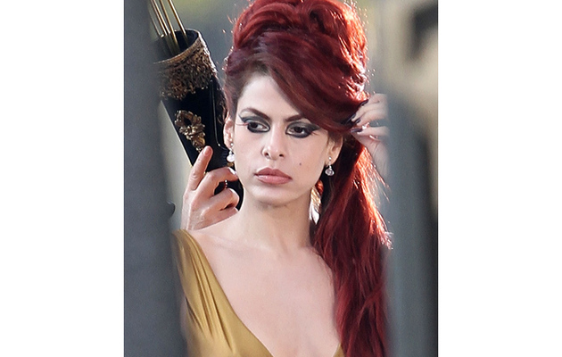 Eva Mendes Gets Amy Winehouse Makeover