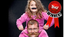 TMZ's Annual Moustache Madness Contest -- WINNER!