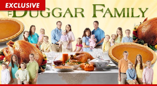 DUGGAR FAMILY Thanksgiving 50 Mouths and Counting