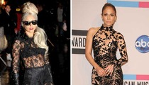 Lady Gaga vs. J.Lo -- The Lace Off