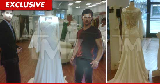 Bella Wedding Dress replica