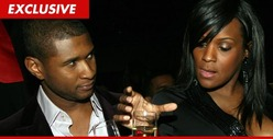 Usher's Ex-Wife -- You Don't DESERVE Our Kids