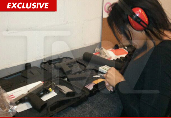 JWoww firearm training