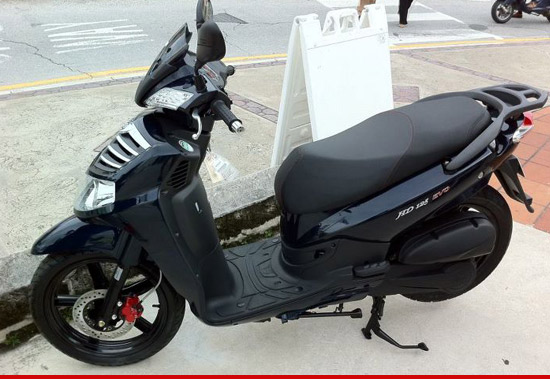 Scooter owned by JBL