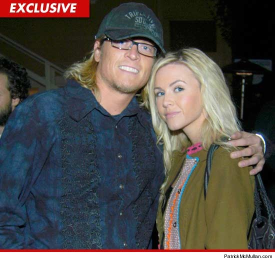 Puddle of Mudd singer Wes Scantlin and Jessica Nicole Scantlin