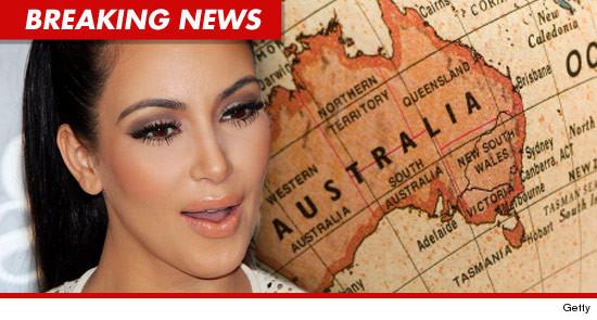 Kim Kardashian Australian Visa