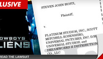 'Cowboys & Aliens' Lawsuit -- Comic Book Writer Says Movie Producers are Robbers!!!