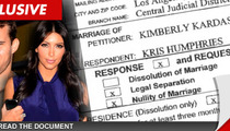 Kris Humphries Annulment Documents