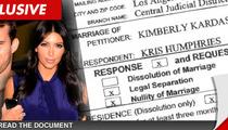 Kris Humphries Annulment Documents