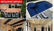 Jay-Z & Beyonce -- Scoping Ricky Martin's $12 Mil Mansion