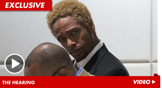 Gary Dourdan in court