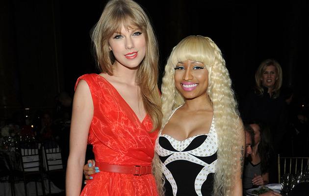 Nicki Minaj & Taylor Swift Show Off New 'Dos In NYC